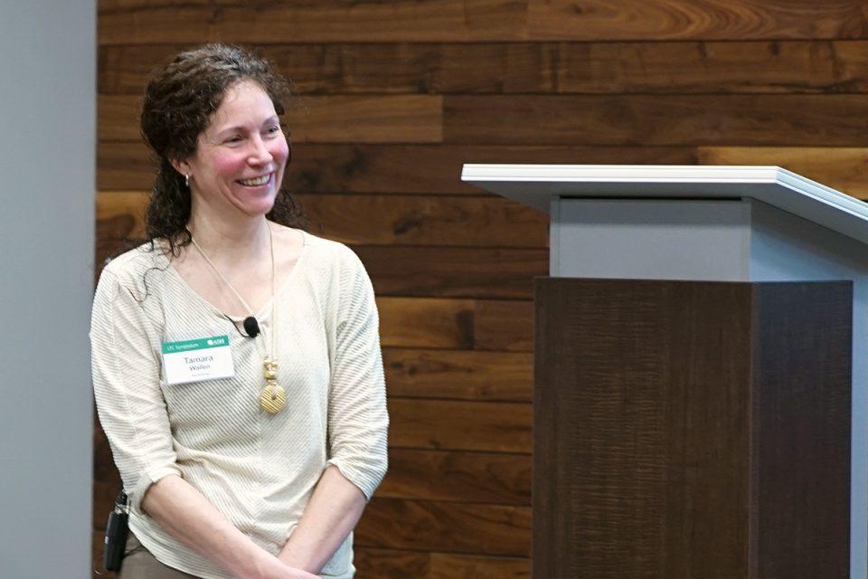 Tamara Wallen Smiles at Ash Brokerage LTC University
