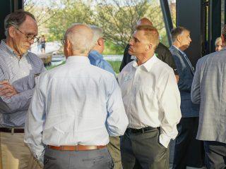 Tim Kukieza Talks With Advisors at Ash Brokerage Event