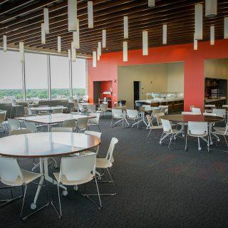 Ash Brokerage Employee Dining Room In Ash Skyline Plaza