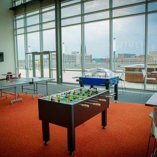 Ash Brokerage Employee Game Room In Ash Skyline Plaza