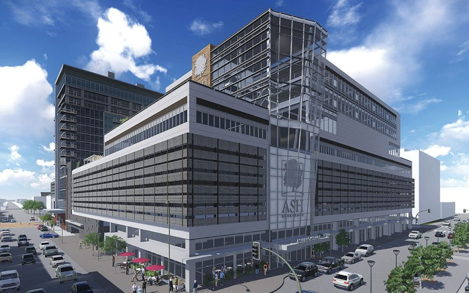 Original Rendering of Ash Skyline Plaza