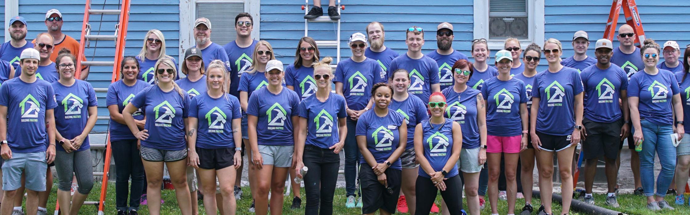 Ash Brokerage Team Volunteering with Neighborlink Fort Wayne 2