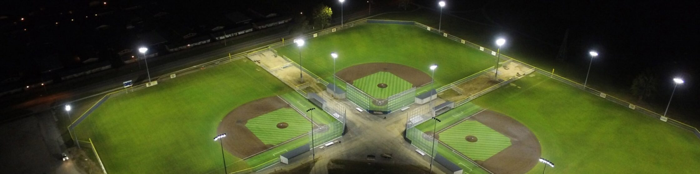 Ash Centre World Baseball Academy Fields Fort Wayne