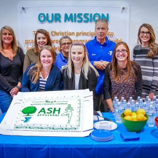 Ash Brokerage Team Supports YMCA of Greater Fort Wayne
