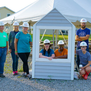 Ash Brokerage Volunteers with Habitat for Humanity Fort Wayne