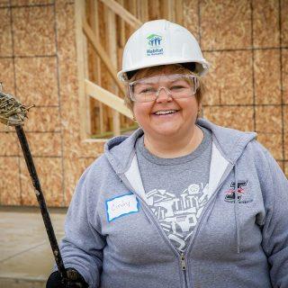 Cindy Dawson Ash Brokerage Volunteering with Habitat for Humanity Fort Wayne
