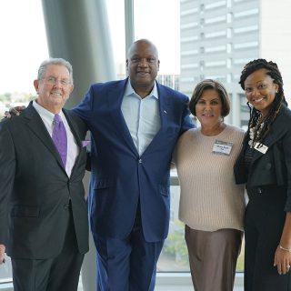 Jim Ash With Unity Arts Foundation Leadership