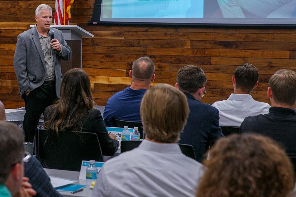 Matt Erpelding Speaks to Advisors at Ash Brokerage Continuing Education Event