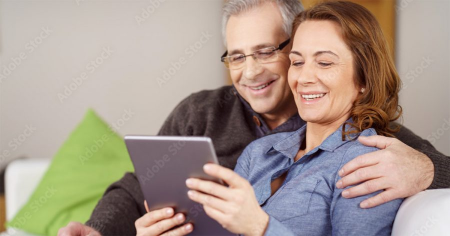 High-Income-Couple-Plans-For-Individual-Life-Insurance-On-Tablet
